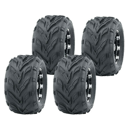 Set of 4 WANDA 145/70-6 Go-Kart Tires 145x70x6 145x70-6 (Go Kart Dirt Tires)
