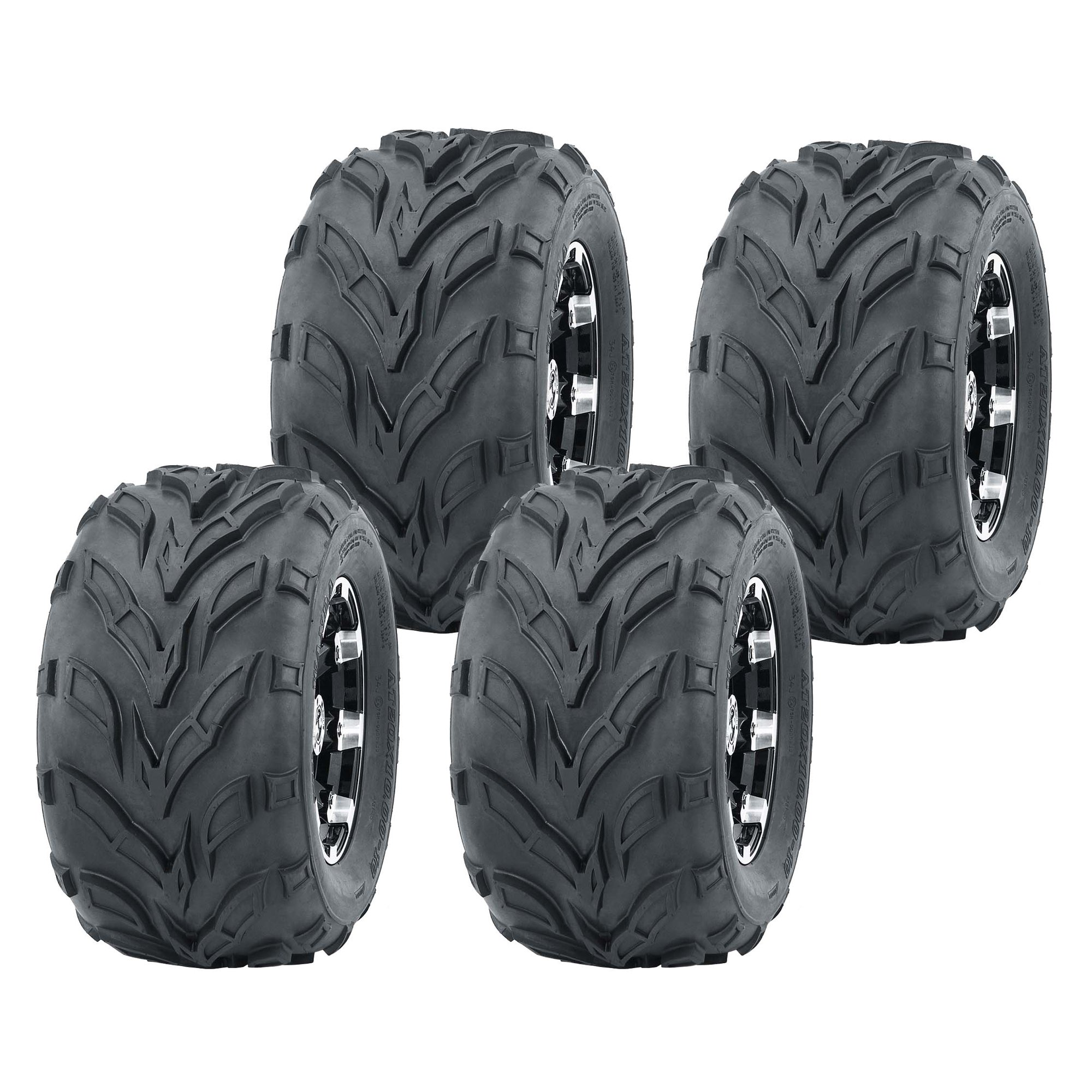Set Of 4 Wanda 145 70 6 Go Kart Tires 145x70x6 145x70 6 Walmart