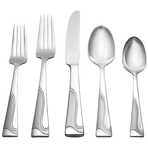 Oneida Lava 20-Piece Flatware Set
