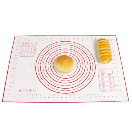 Supersellers Silicone Baking Mat Non Stick Bread Kneading Dough Rolling Pastry Mat Bakeware Liners Kneading Mat with Accurate Size Calibration (Bakeware Liner)
