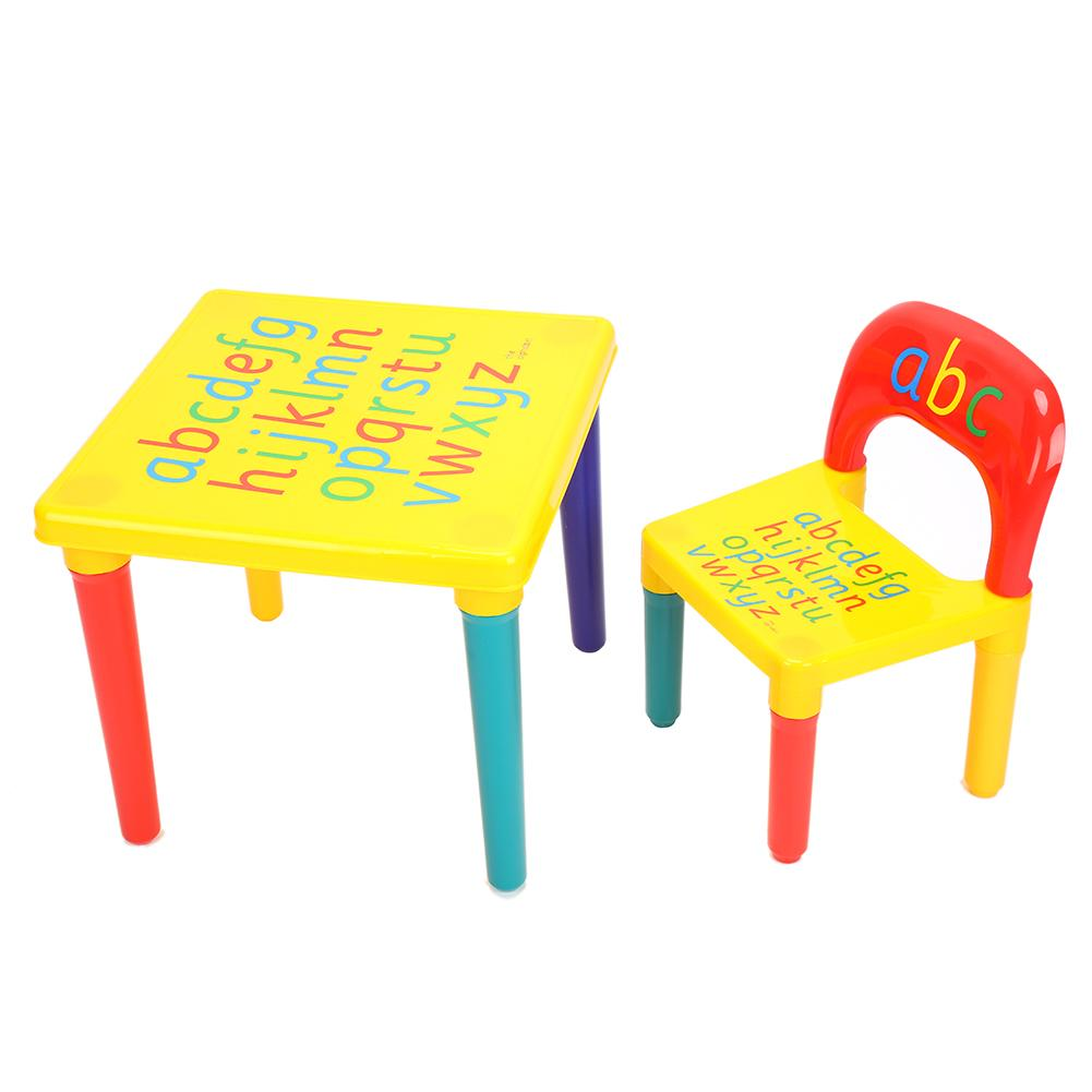 HURRISE Kids Table And Chair Set,Toddler Child Toy Activity Furniture  Bedroom Play Creative Activity