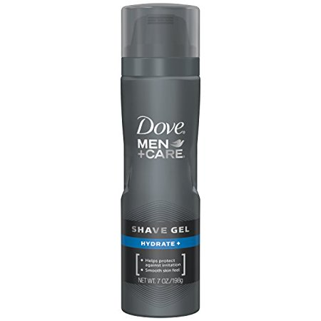 2 Pack Dove Men+Care Hydrate+ Shave Gel 7 Oz Each