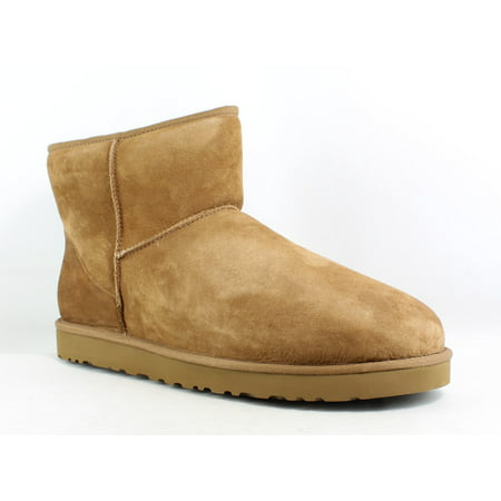 UGG Mens Classic Mini Chestnut Snow Boots Size 17 Classic Short Mens Boots