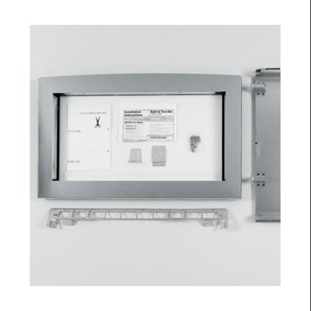 Ge jx2130sh 30 deluxe built in trim kit for 2 1 cu ft for Microwave ovens built in with trim kit
