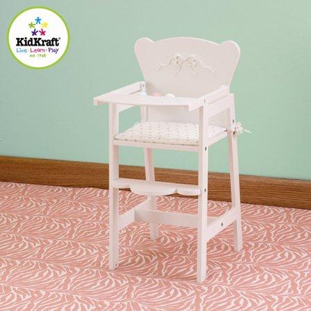 KidKraft Tiffany Bow Lil Doll High Chair
