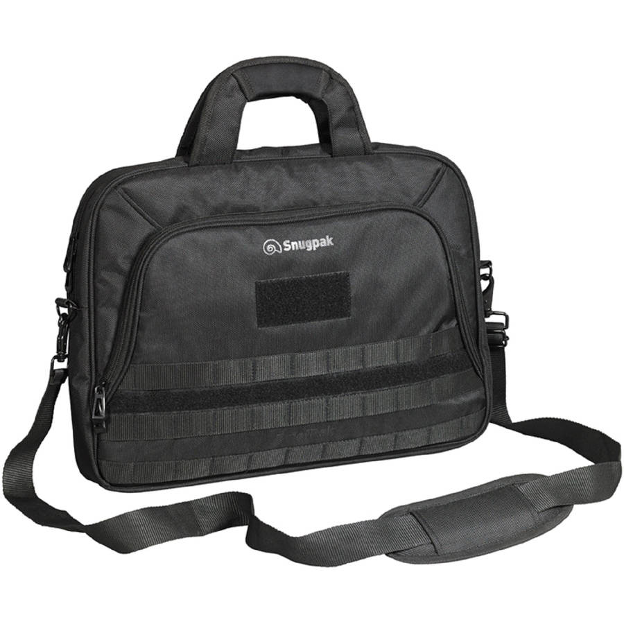 Snugpak Briefpak with Laptop Pocket, Black