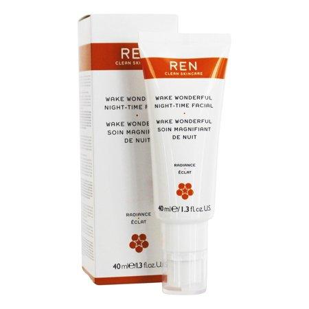 REN Wake Wonderful Night-Time Facial, 1.3 fl oz