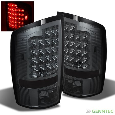 For 2002-2006 Ram 1500, 2003-2006 2/3500 R/SMK LED Perform Tail Lights Rear Brake Lamps Pair Left+Right 2003 2004 2005