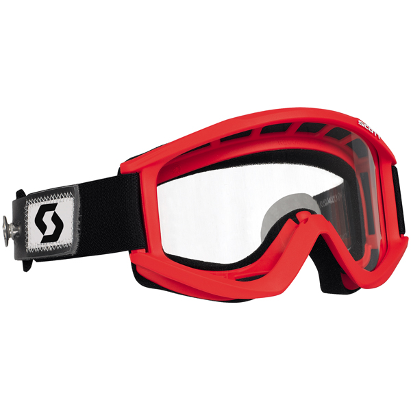 Scott Recoil Speed Strap MX/Offroad Goggles Red