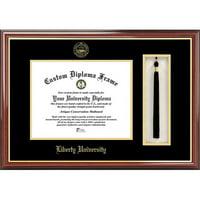 "Liberty University 8.5"" x 11"" Tassel Box and Diploma Frame"