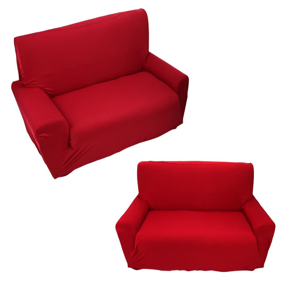 Yosoo Sofa Cover 2 Seater Sofa Cover Slipcover Stretch Elastic Couch Chair Protector Home