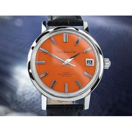 Citizen Homer Date Vintage Rare Mens Automatic Watch 1960s Japanese Watch Scx320 ()