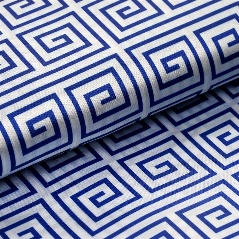 "BalsaCircle 54"" x 10 yards Satin Greek Design Fabric Bolt Put-up - Sewing Crafts Draping Decorations Supplies"