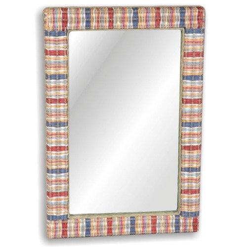 Jeffan Funstripes 37'' H x 25'' W Mirror