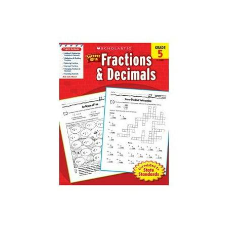 Success With Fractions   Decimals  Grade 5