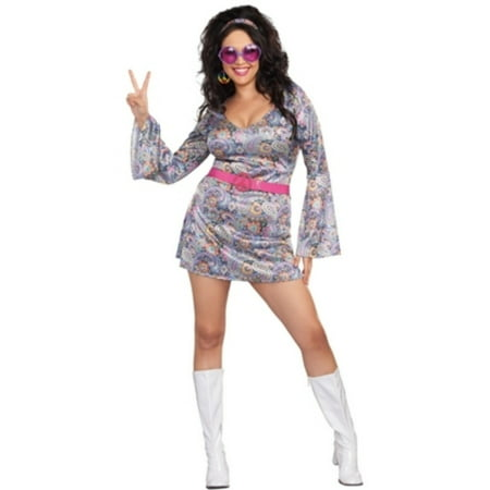 Plus Size Love-Fest Disco Diva - Om Nom Costume