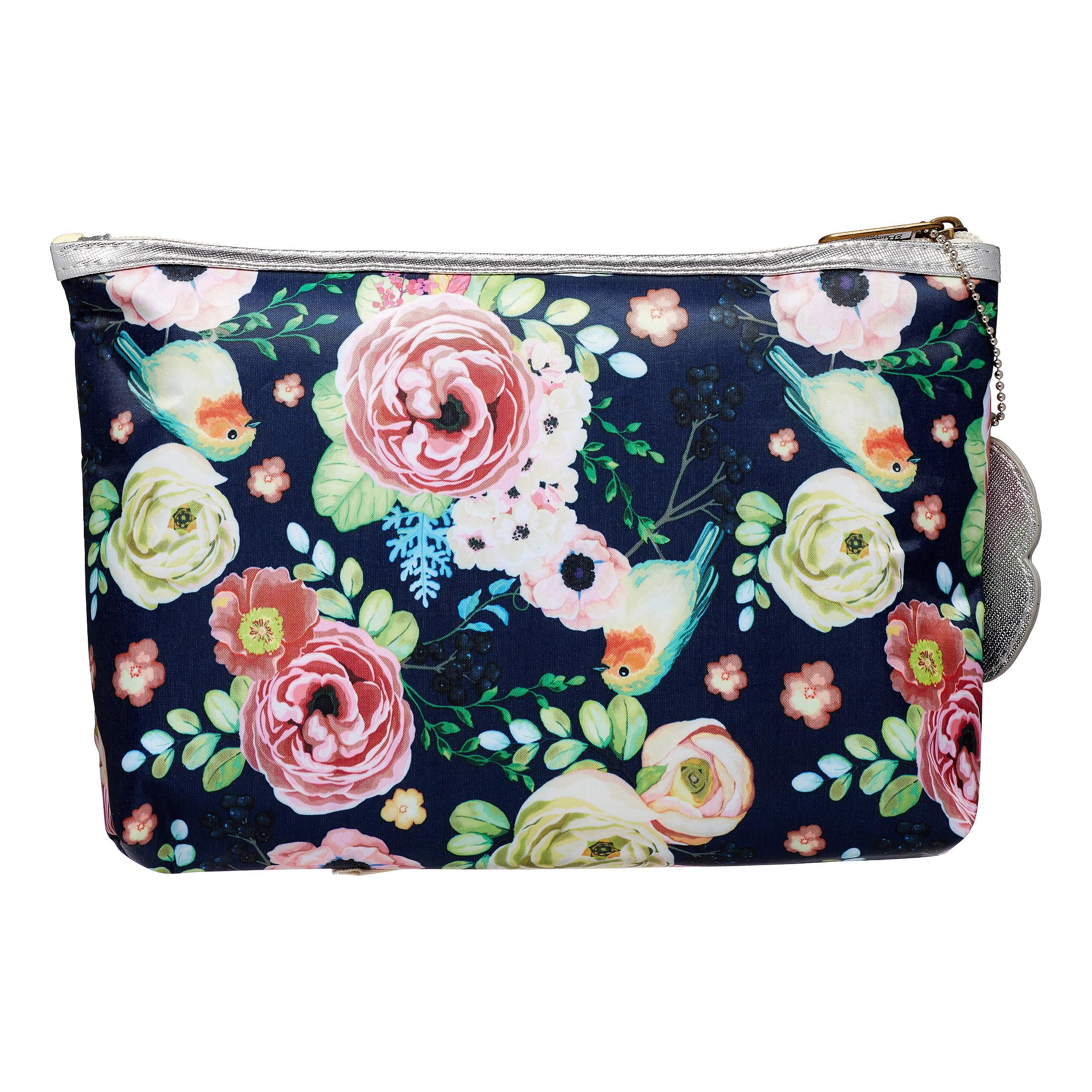 b43c543a37cb Primrose Hill Makeup Bag 2-piece Clutch Set Rose Floral ($15 Value ...