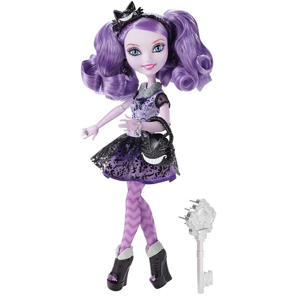 Kitty Cheshire Doll Discontinued By Manufacturer Daughter Of The Cat Wonderland Has Decided To Rewrite Her Destiny As An Ever After High Walmart Com