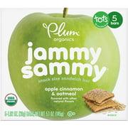 Jammy Sammy, Organic Kids Snack Bar, Apple Cinnamon & Oatmeal, 5.1 oz, 5 bars (Pack of 6)