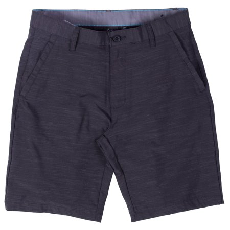 8dd0290b5a Burnside Hybrid Stretch Shorts For Mens Men Golf Boardshorts Black - 33 -  Walmart.com