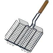 Omaha Steak Baskets With Handle Wood Handle Steel
