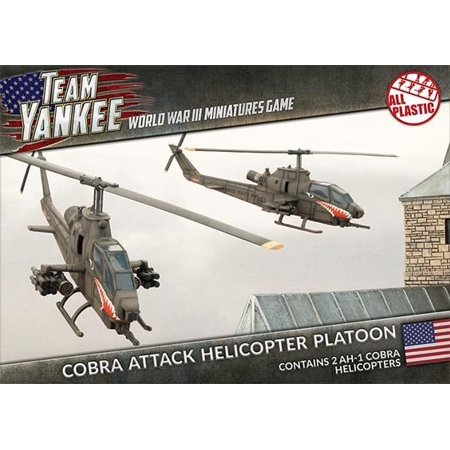 Cobra Attack Helicopter Platoon -