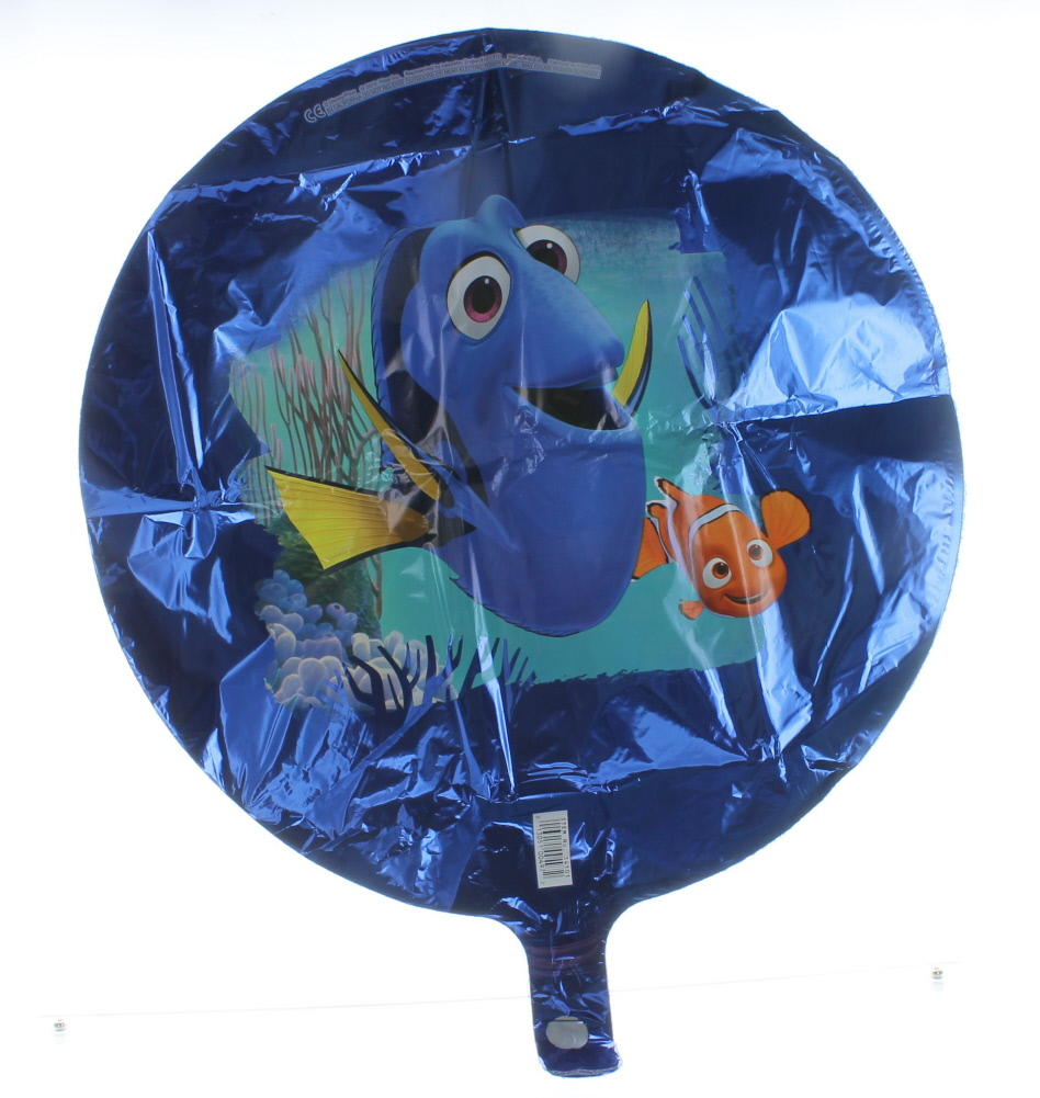 "18"" Dory and Nemo Round Shaped Mylar Foil Balloon Party Decorations"