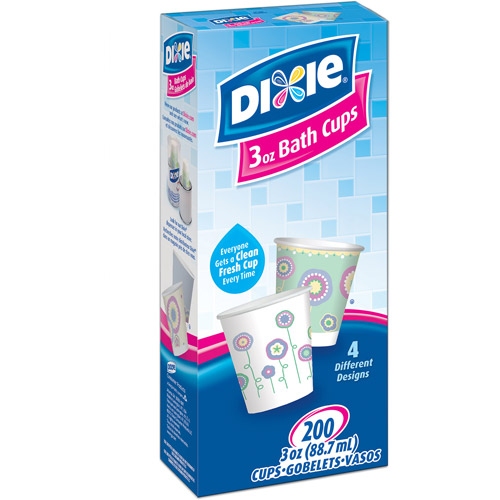 Dixie Bath Cups, 3 oz, 200 count