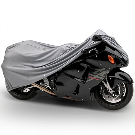 Motorcycle Bike 4 Layer Storage Cover Heavy Duty For Kawasaki Ninja 500 500R - image 3 of 3