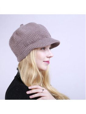 a0922fdc6da Product Image Fashion Women Girl Solid Color Winter Warm Knitted Hat Cap  Christmas Present