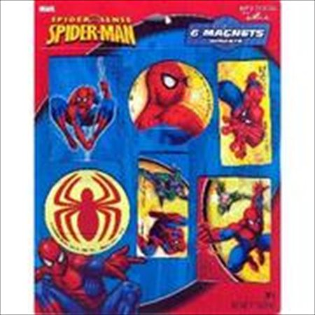 Spider-Man Spider Sense Magnets / Favors (6ct)