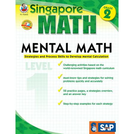 Mental Math, Grade 2 : Strategies and Process Skills to Develop Mental Calculation (Grade 2 Halloween Math Worksheets)
