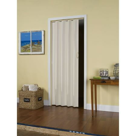 Ltl Home Products Si3680cw Sienna Interior Accordion Folding Door 36 X 80 Cottage White