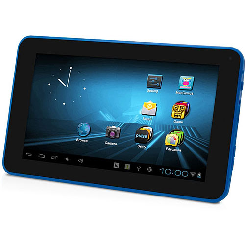 "D2 Pad D2-711-BL with WiFi 7"" Touchscreen Tablet PC Featuring Android 4.0 (Ice Cream Sandwich) Operating System, Blue"