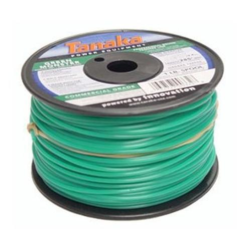 Tanaka 746595 0.130 in. x 855 ft. Green Monster Commercial Grade Trimmer Line Spool (3 lb.)