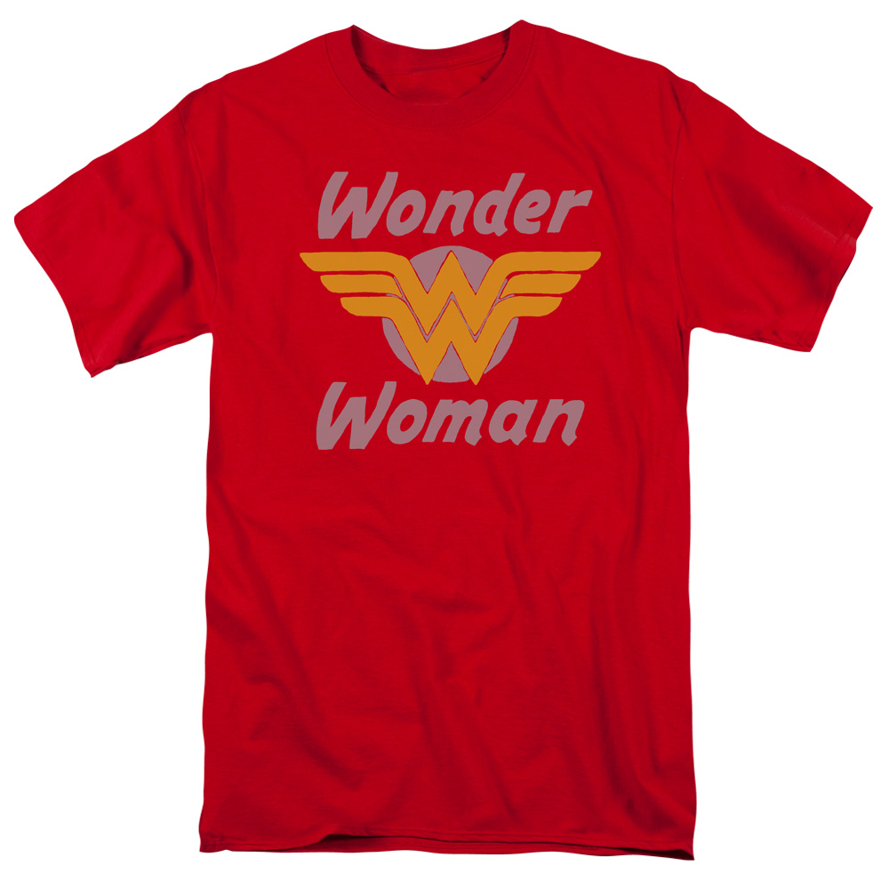 DC Comics Wonder Wings Mens Short Sleeve Shirt