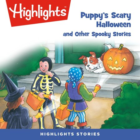 Puppy's Scary Halloween and Other Spooky Stories - Audiobook