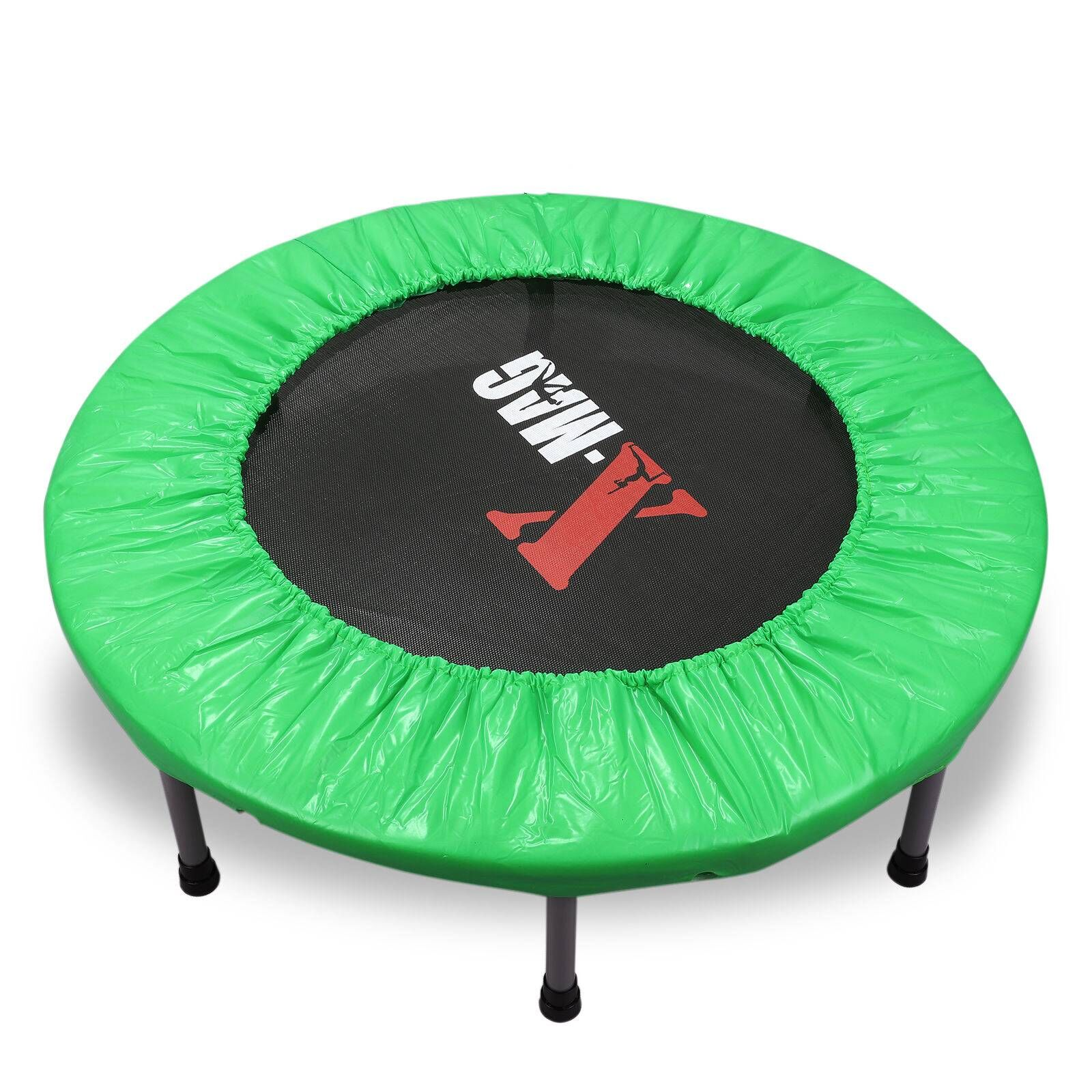 "X-MAG 36"" Rebounder Fitness Exercise Trampoline Jumper Gym With Cardio Monitor"