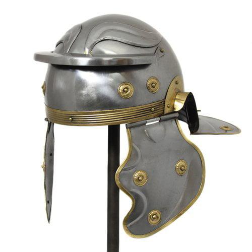 EC World Imports Antique Replica Roman Centurion Imperial Gallic Galea Helmet by EC World Imports