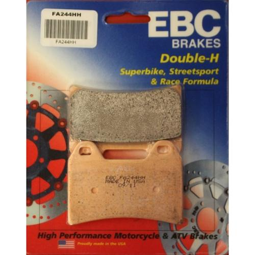 EBC Double-H Sintered Brake Pads Front (2 sets Required) Fits 09-12 Moto Guzzi Stelvio 1200