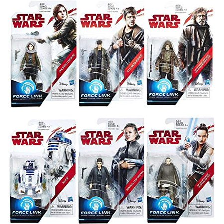 Star Wars: The Last Jedi Orange 3 3/4-Inch Action Figures Wave 2 SET - image 1 of 1