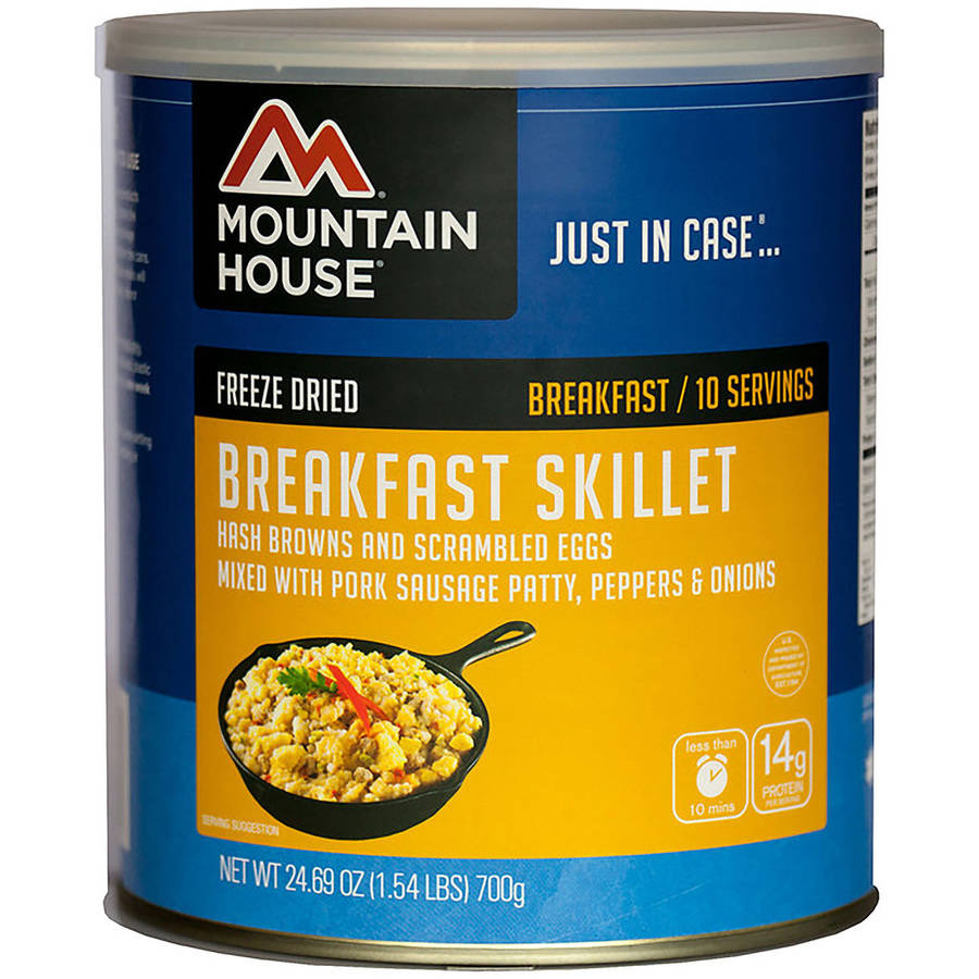 Mountain House Freeze Dried Breakfast Skillet Can