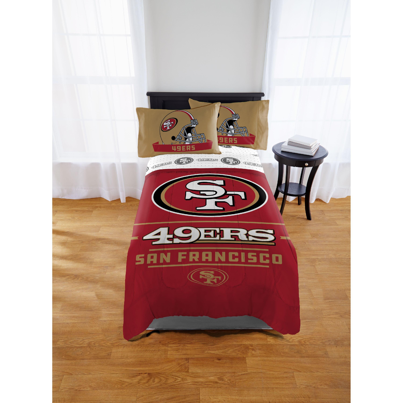 NFL San Francisco 49ers Monument Twin/Full Comforter