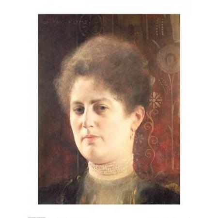 Posterazzi BALXAM68911 Portrait of A Lady Poster Print by Gustav Klimt - 18 x 24 in. - image 1 de 1