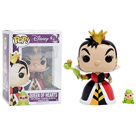 Pop! Disney Alice In Wonderland Queen of Hearts #234, By FunKo