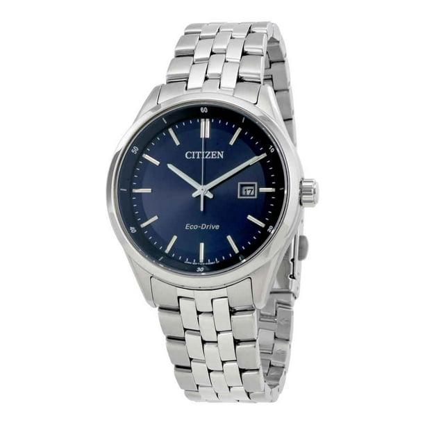 Citizen Men's BM7251-53L Silver Stainless-Steel Eco-Drive Dress Watch