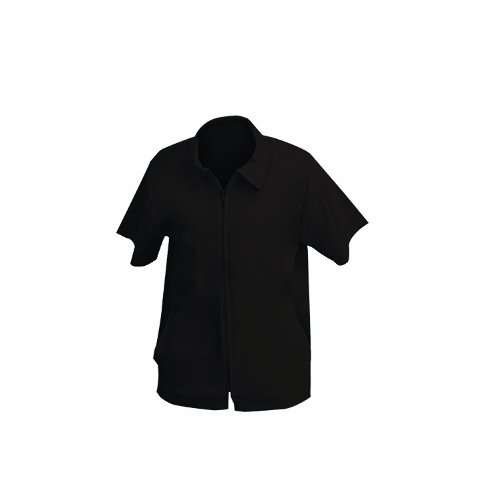 Barber Jacket, Black, X-Large, Water resistant By Shaving...