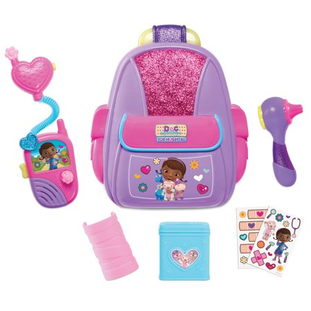 Doc McStuffins First Responders Backpack Set](Doc Stuffin)
