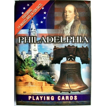Philadelphia with Liberty Bell Souvenir Playing Cards ()