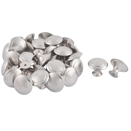 Unique Bargains Furniture Closet Drawer Stainless Steel Pull Knob Handle Silver Tone 30 (Silver Tone Drawer Pulls)